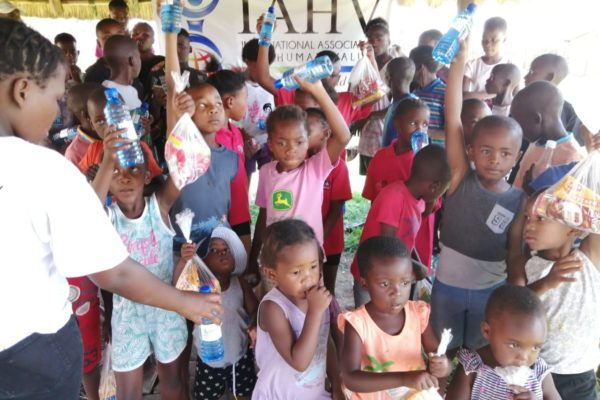 A Christmas party for 50 kids was held at the Little Farmyard Day Care Centre, Vereeniging.